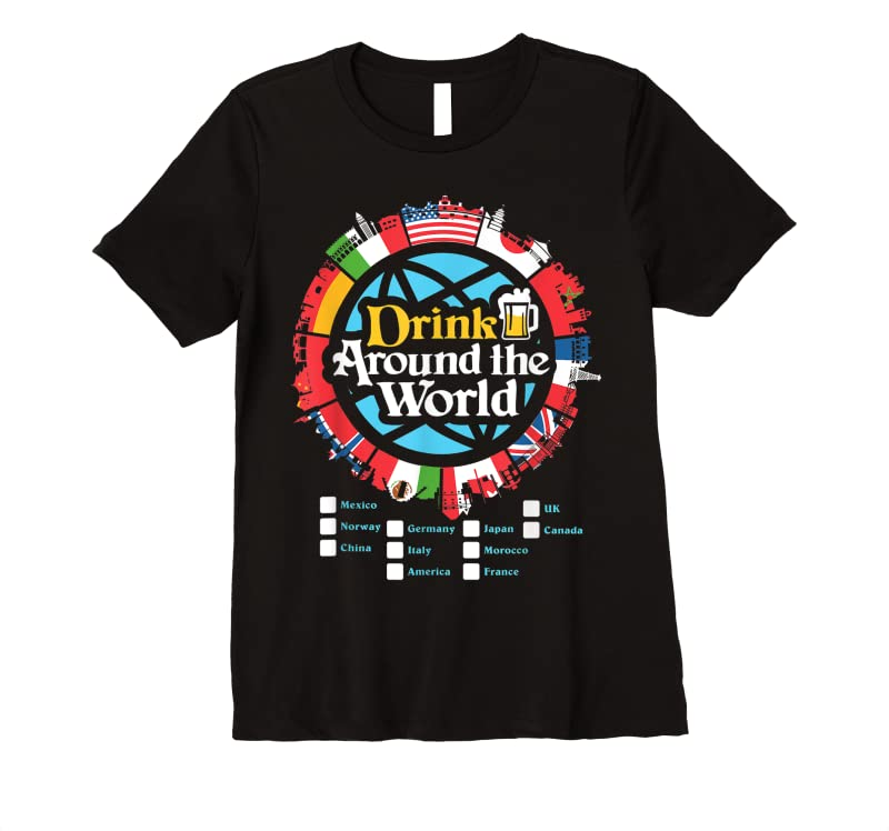 Best Adult Vacation Drinking Showcase T Shirts