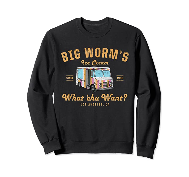 Best Big Worm's Ice Cream What Chu Want T Shirts