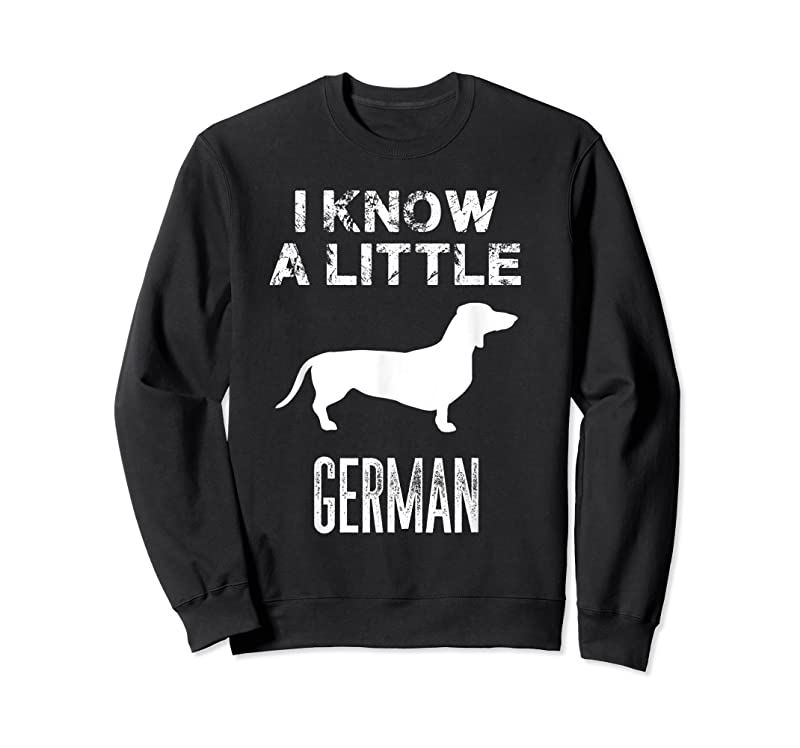 Best Dachshund I Know A Little German Gift T Shirts