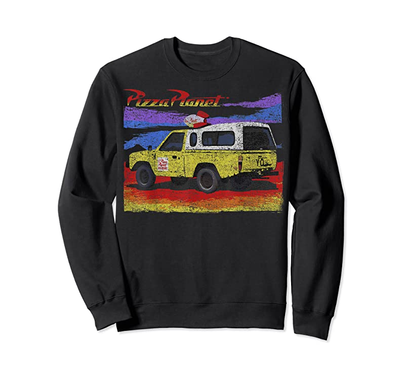 Best Disney Pixar Toy Story Pizza Planet Truck Distressed T Shirts
