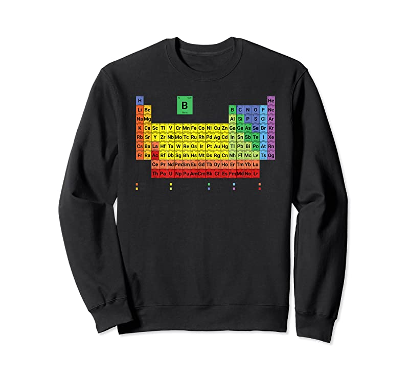 Best Full Periodic Table Of Elements With Description T Shirts