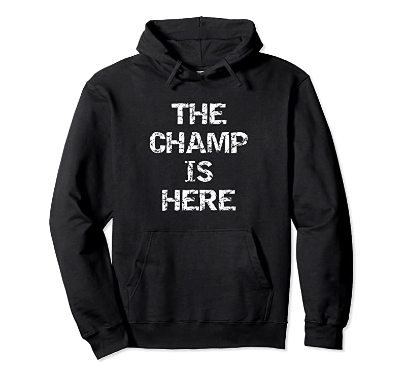 Best Funny Fantasy Football Championship Trophy The Champ Is Here T Shirts