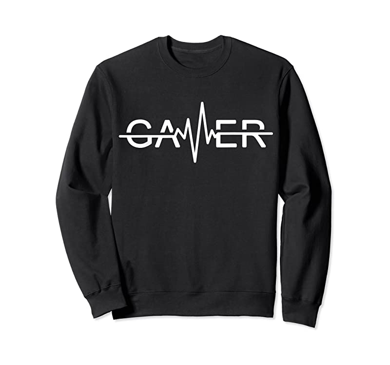 Best Gamer Heartbeat Video Games Graphic T Shirts