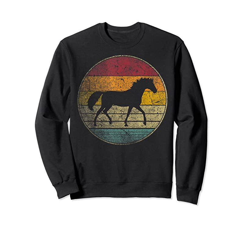 Best Horse Riding Love Equestrian Girl Vintage Distressed Retro T Shirts