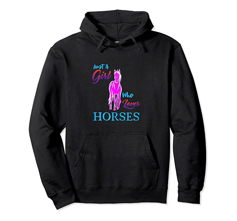 Best Just A Girl Who Loves Horses Cute Horse T Shirts