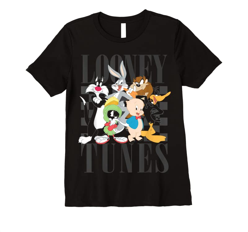Best Looney Tunes 90's Style Group Shot T Shirts