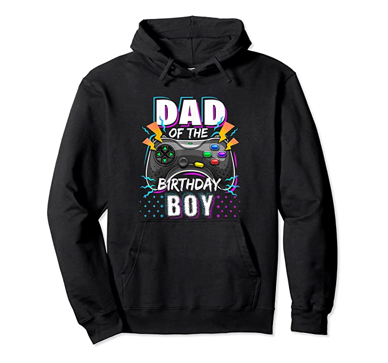 Best Mens Dad Of The Birthday Boy Matching Video Gamer Birthday Party T Shirts