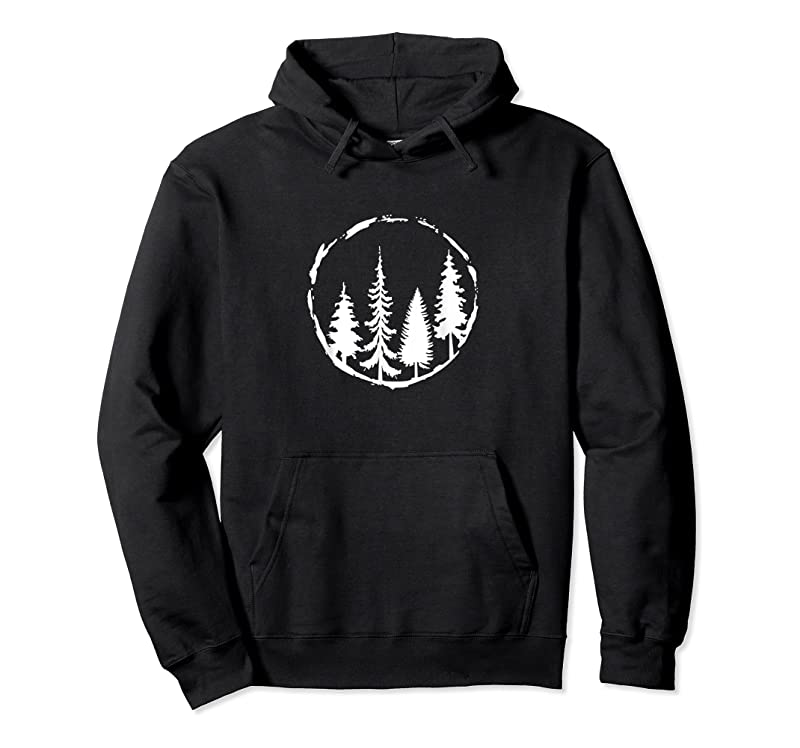 Best Minimalist Tree Design Forest Outdoors And Nature Graphic T Shirts