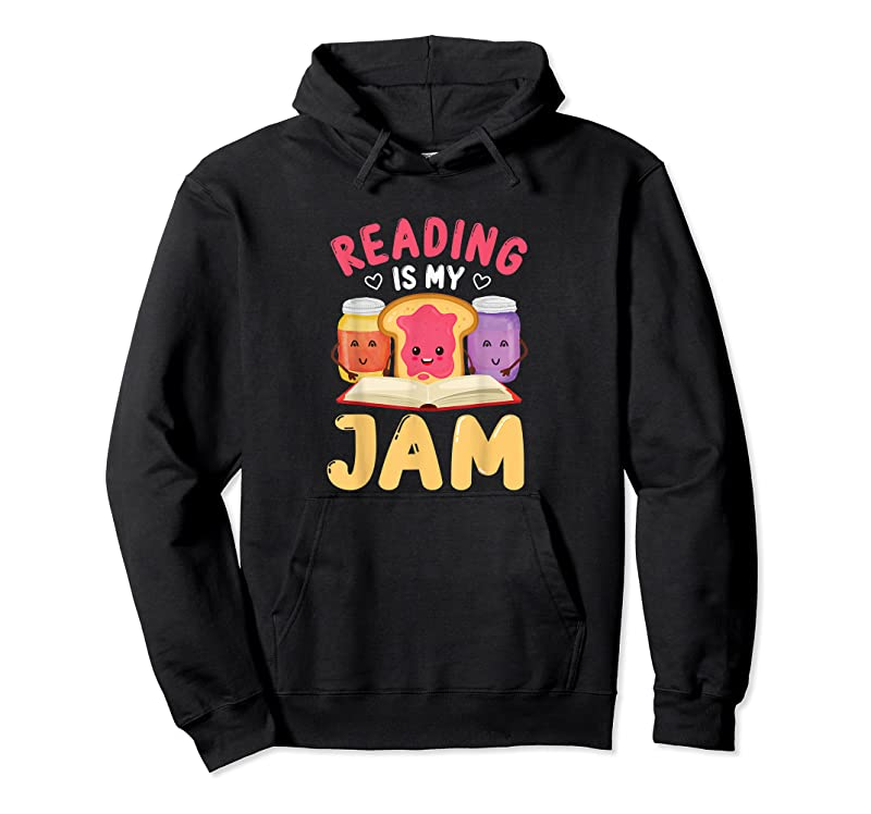 Best Reading Is My Jam Funny I Love To Read Books Gift T Shirts