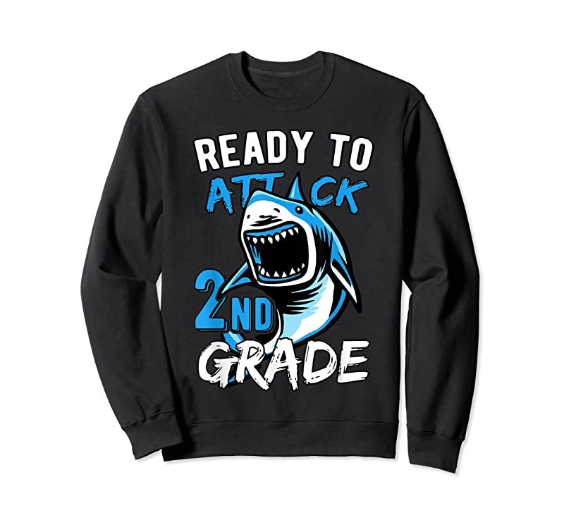 Best Ready To Attack 2nd Grade Boys Back To School T Shirts