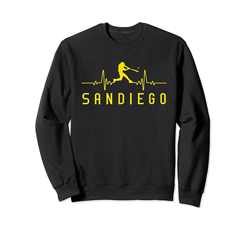 Best San Diego Baseball Heartbeat Sd Game Day Padre T Shirts