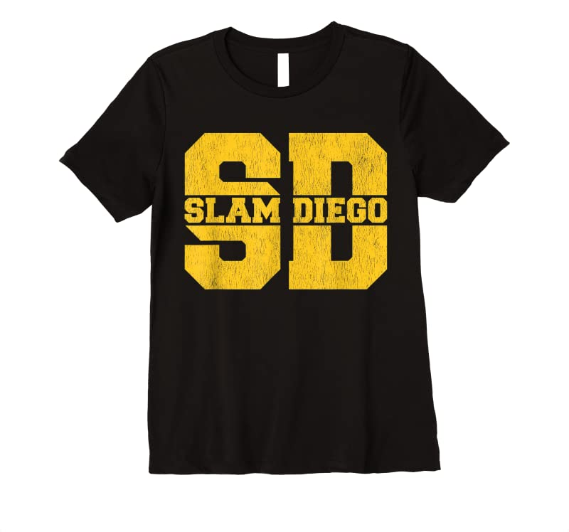 Best Slam Diego San Diego Souvenirs And Gift Baseball Fans T Shirts