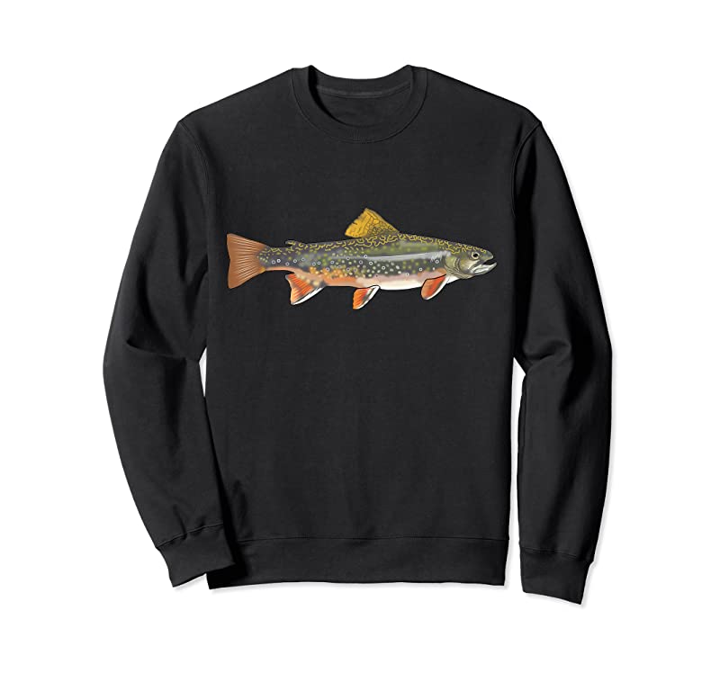 Best Speckled Brook Trout Fish Graphic Freshwater Fishing Gift T Shirts