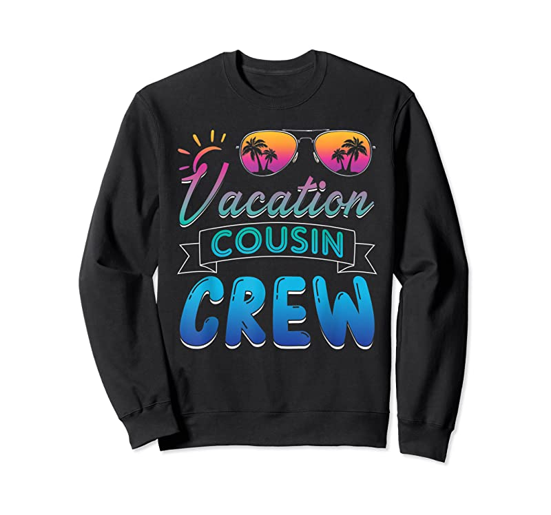 Best Vacation Cousin Crew Beach Cruise Sunglasses Family Vacation T Shirts
