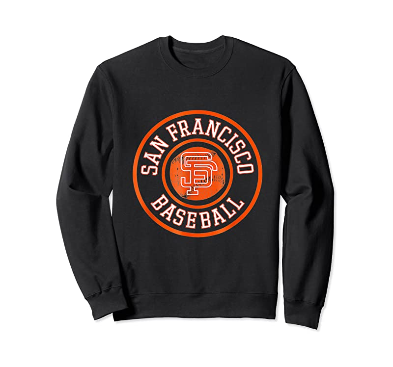 Best Vintage San Francisco Baseball Sf The City Badge Giant Gifts T Shirts