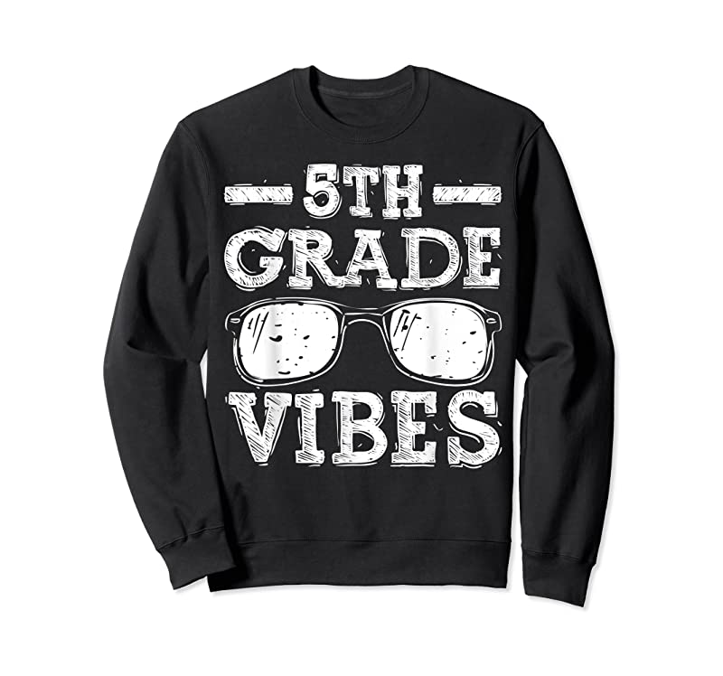 Cool Back To School 5th Grade Vibes First Day Teacher Kids T Shirts