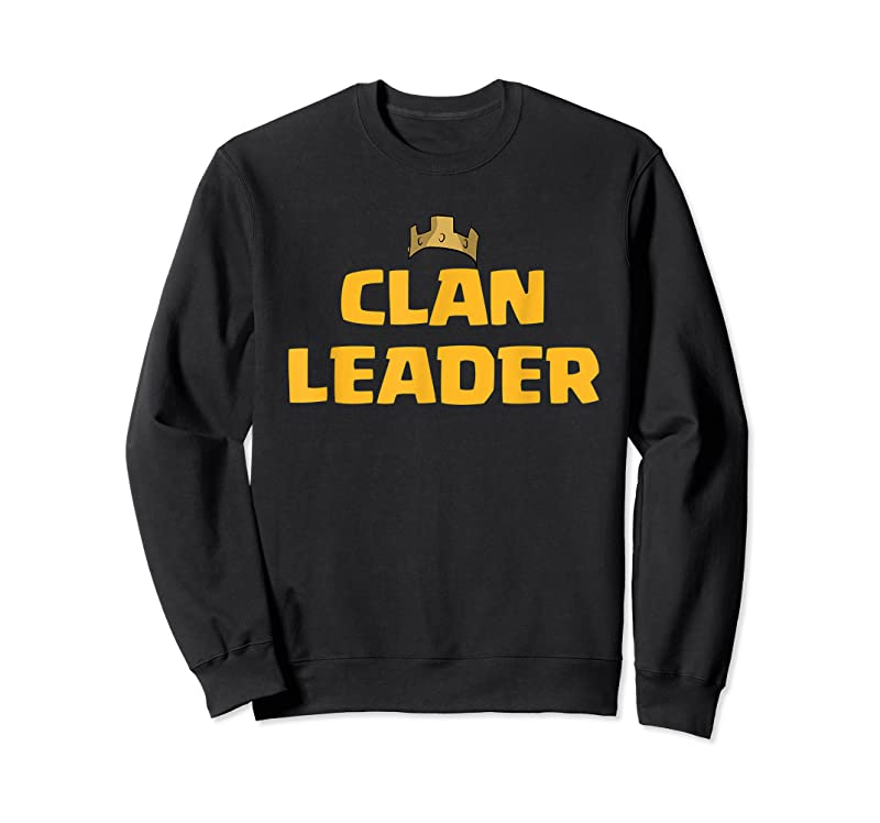 Cool Clan Leader Perfect For Mobile Gamers T Shirts