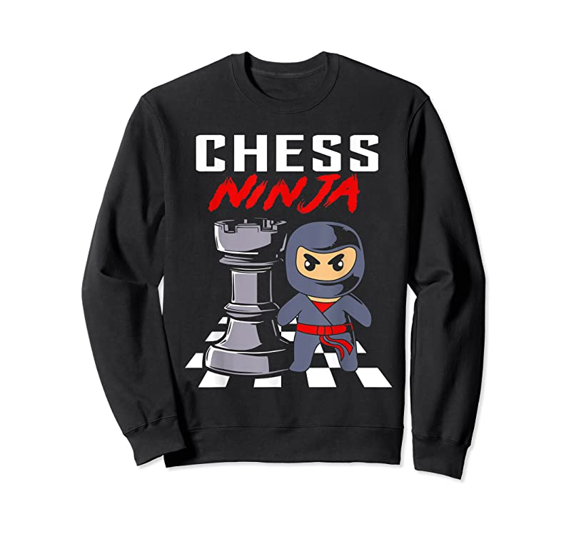 Cool Funny Chess Ninja For Kids And Chess Player T Shirts