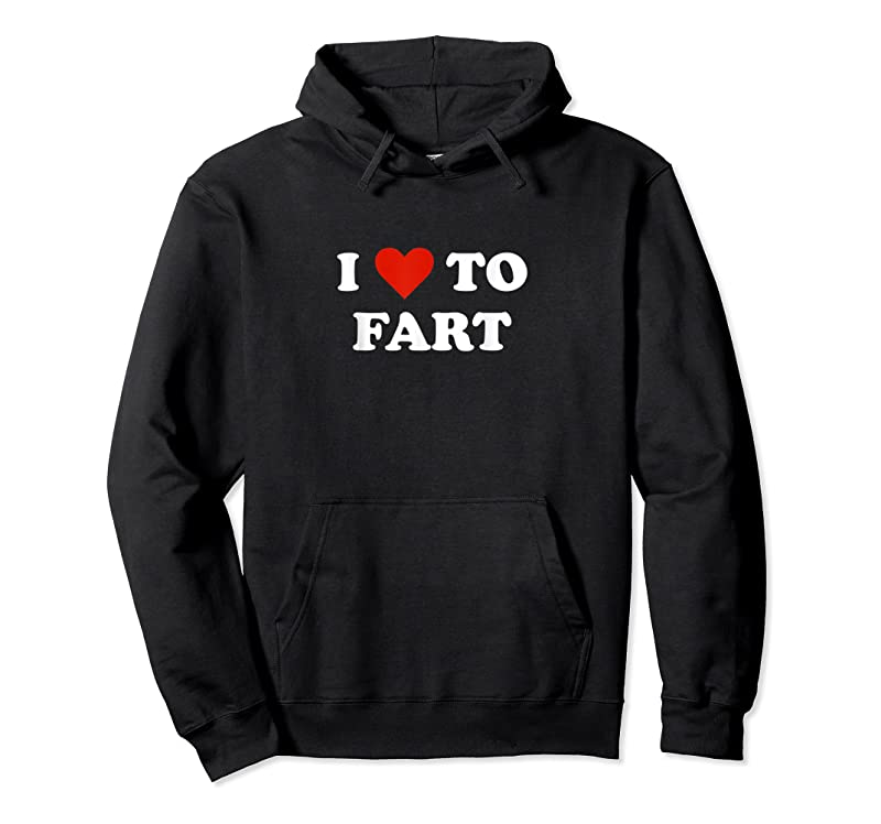 Cool I Love To Fart Heart T Shirts