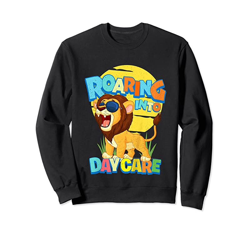 Cool Kids First Day Of Daycare School Toddler Lion Safari Jungle Gifts T Shirts
