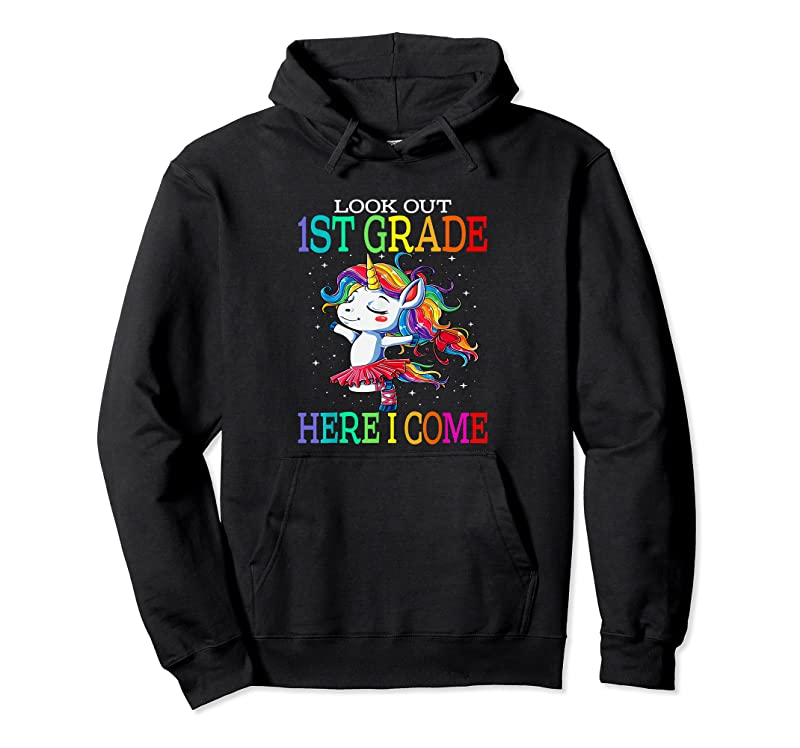 Cool Kids Look Out 1st Grade Here I Come Unicorn T Shirts
