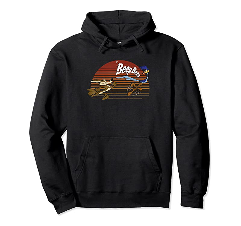 Cool Looney Tunes Wile E. Coyote Amp; Road Runner Sunset T Shirts