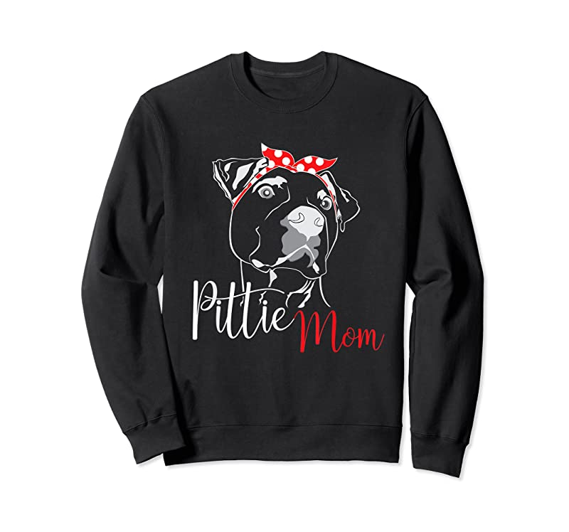 Cool Pittie Mom American Pitbull Dog Lover Gift T Shirts