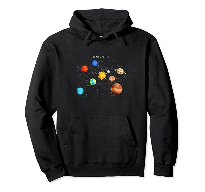 Cool Solar System Planets Sun Space And Science Tee T Shirts