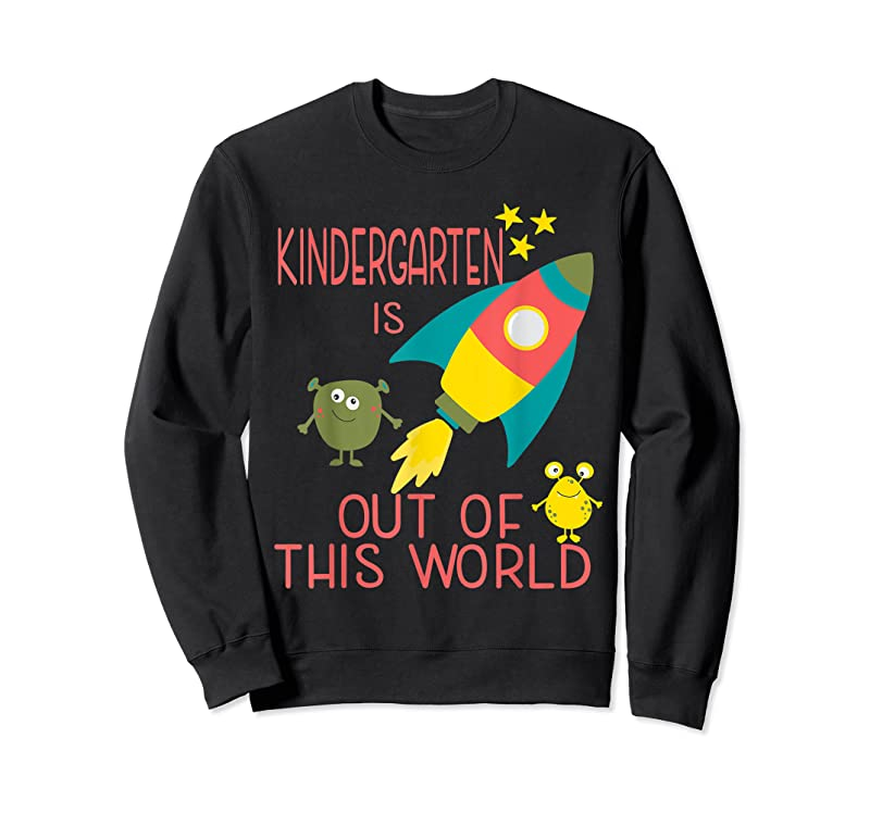 Cool Space And Aliens For Kindergarten Teachers And Students T Shirts