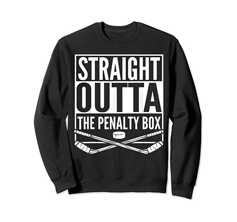 Cool Straight Outta The Penalty Box Hockey Player Gift Hockey T Shirts