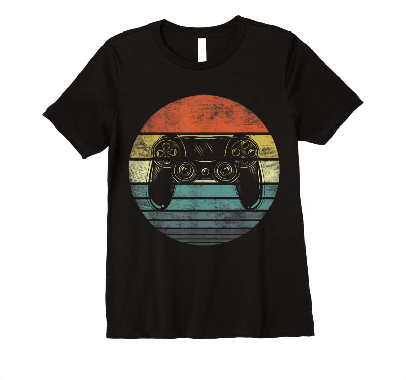 Cool Video Gamer Gifts Funny Retro Video Game Controller Gaming T Shirts