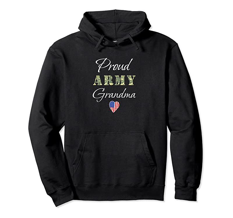New Army Grandmother Grandson Soldier For Proud Army Grandma T Shirts