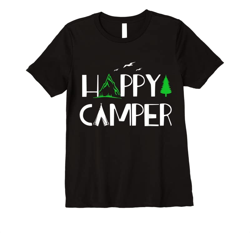 New Happy Camper Camping For Men Women And Kids T Shirts