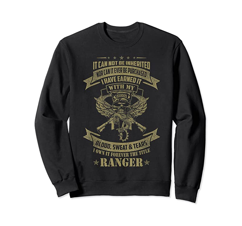 New I Own It Forever The Title Us Army Ranger Veteran T Shirts