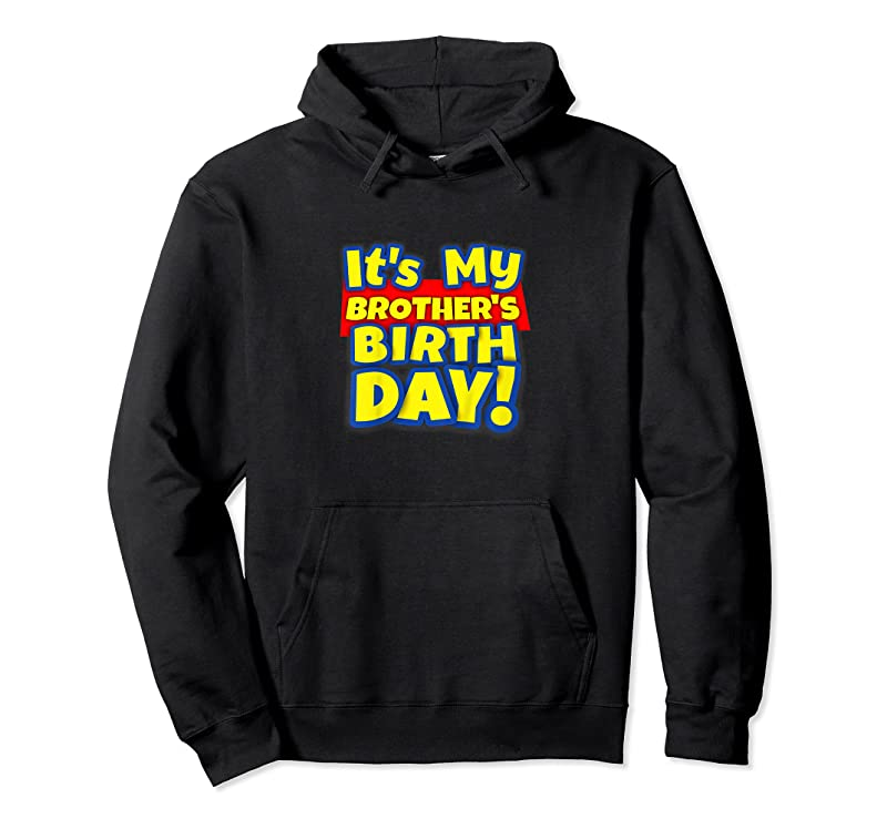 New Kids It's My Brother's Toy Birthday Party Gift T Shirts