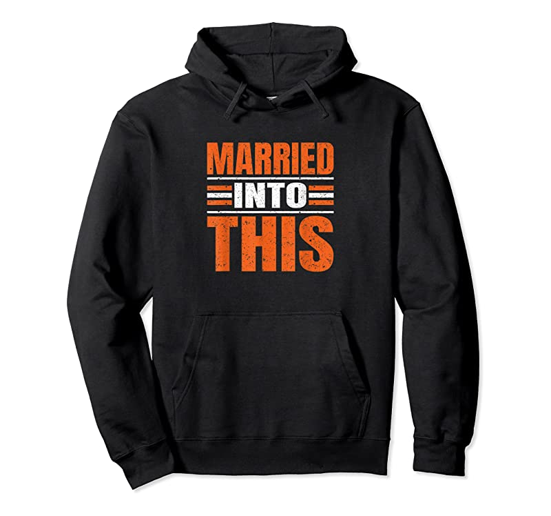 New Married Into This Vintage Cleveland Funny Gift T Shirts