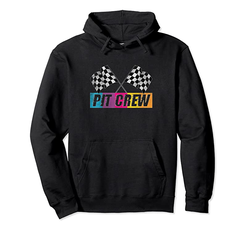 New Pit Crew Race Car Party Checkered Flag Car Racing Party Gift T Shirts