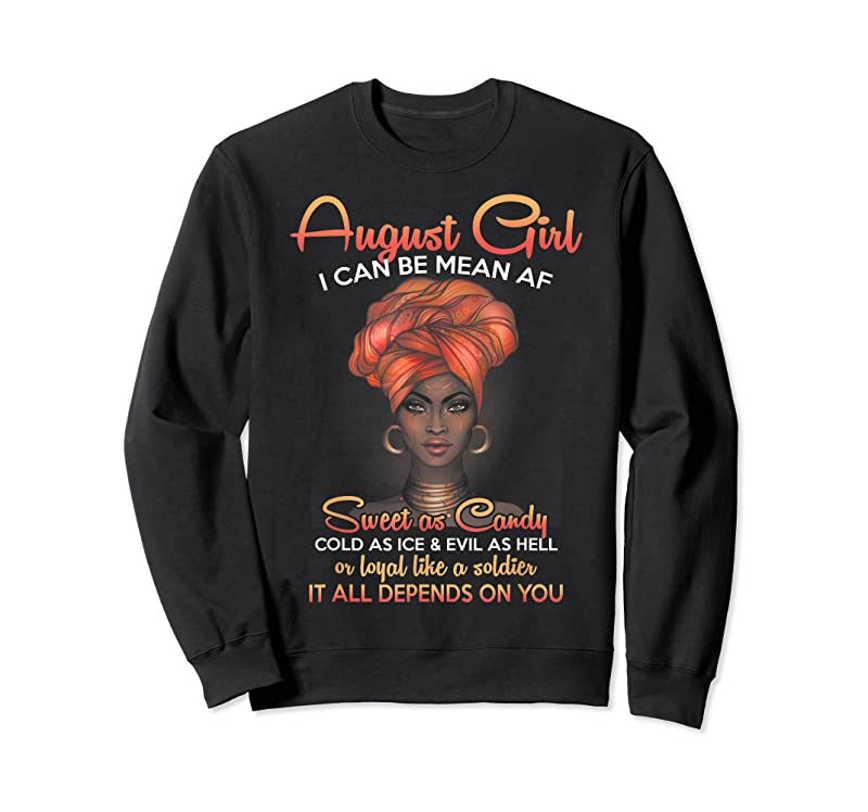 New Queens Are Born In August Birthday For Black Women T Shirts