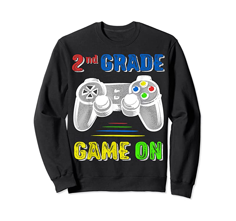 New Second 2nd Grade Back To School 1st Day Of Gamer Video Game T Shirts
