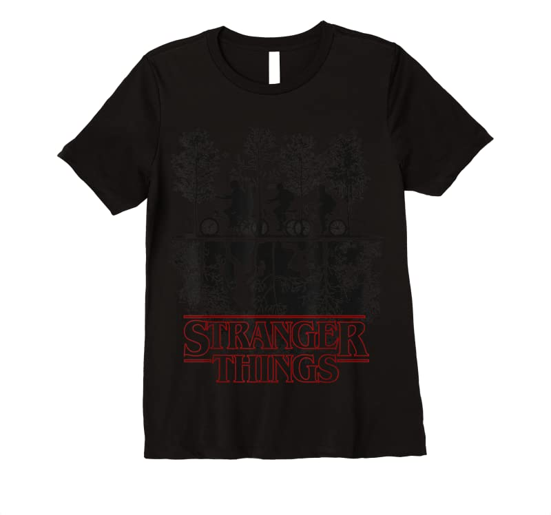 New Stranger Things The Upside Down Logo T Shirts