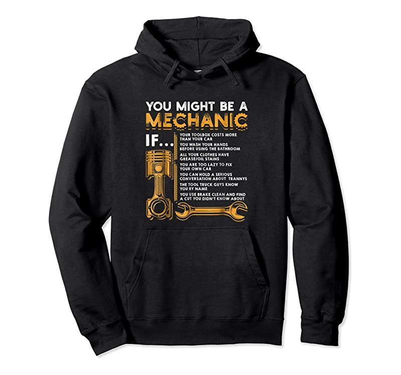 New You Might Be A Mechanic If Funny Mechanic Gifts T Shirts