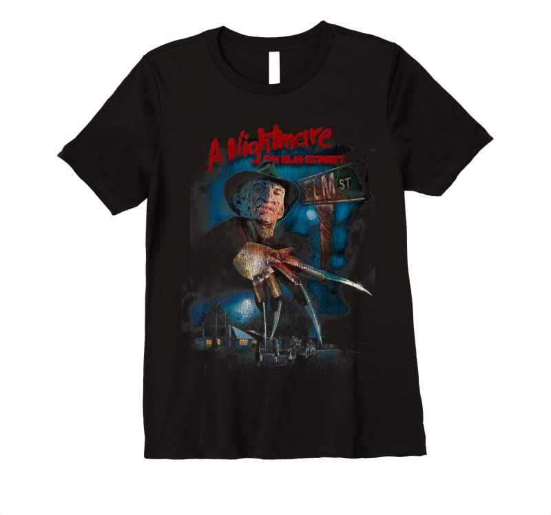 Perfect A Nightmare On Elm Street Freddy Poster Fade T Shirts