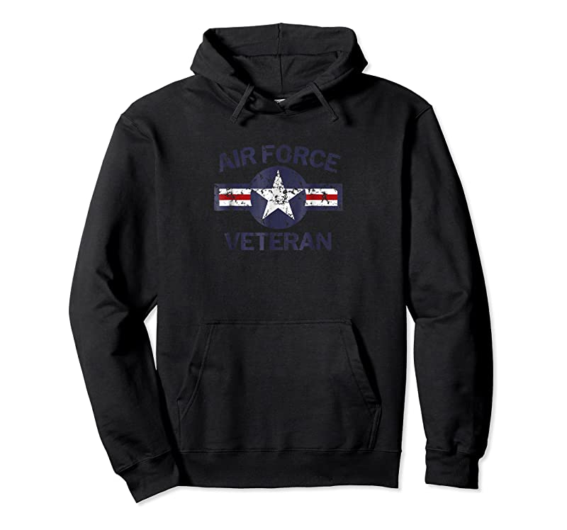 Perfect Air Force Veteran With Vintage Roundel Grunge T Shirts