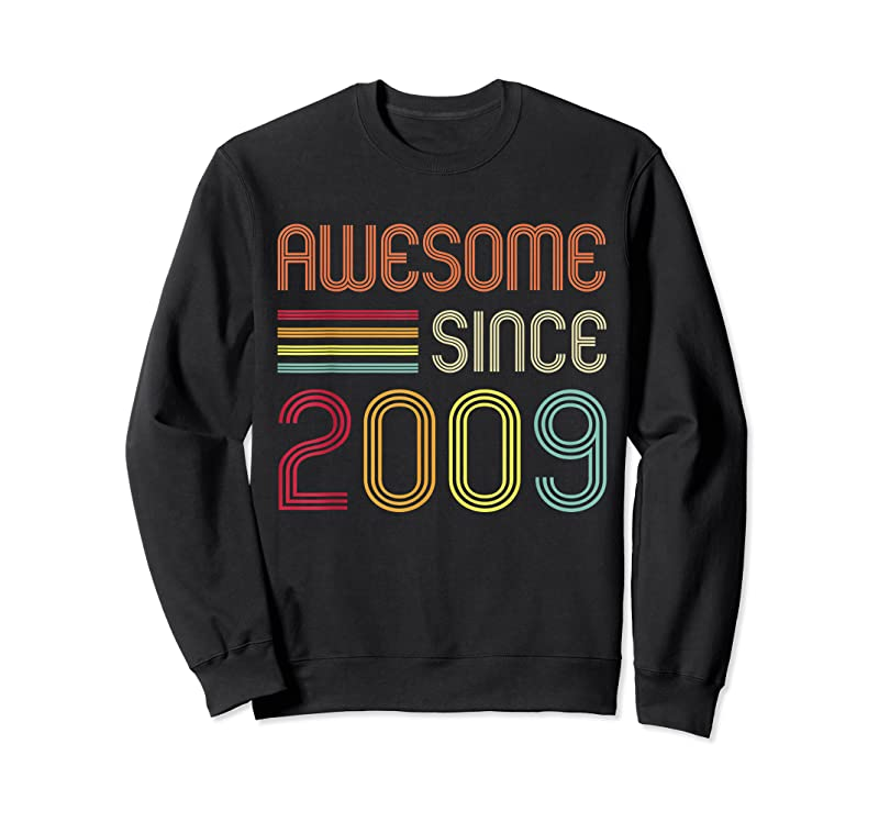 Perfect Awesome Since 2009 12th Birthday Retro T Shirts