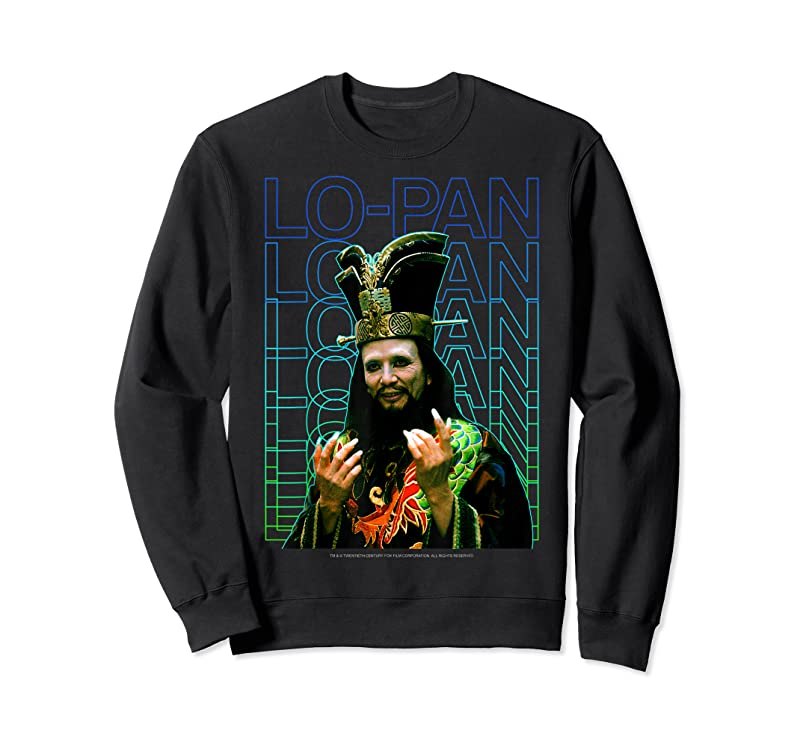 Perfect Big Trouble In Little China Lo Pan Text Stack Portrait T Shirts