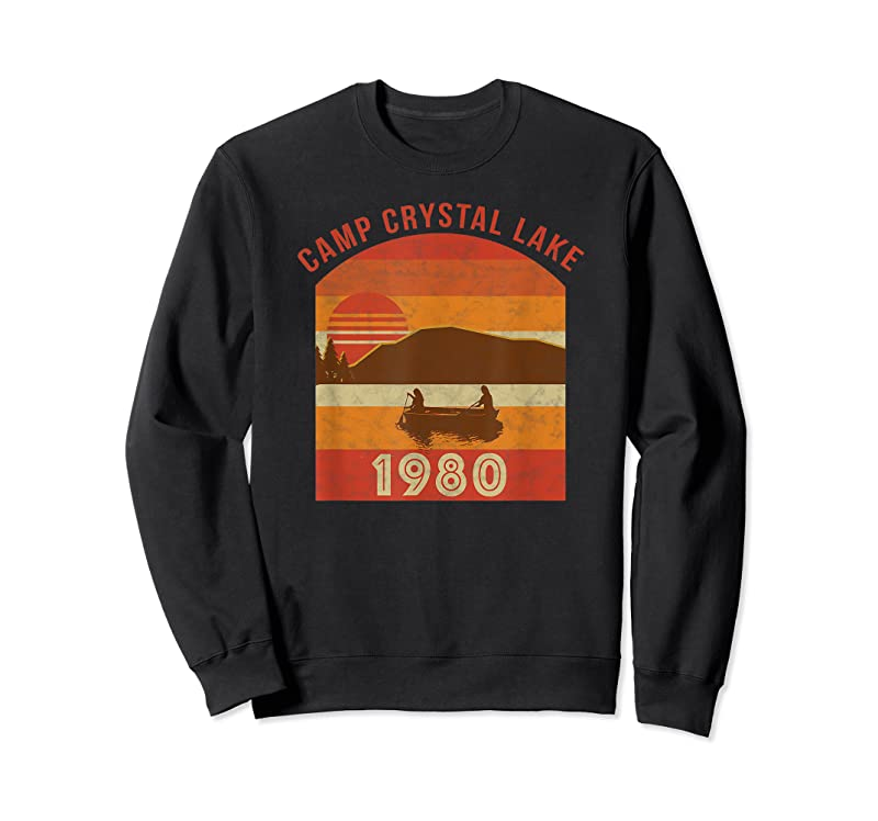 Perfect Camp Crystal Lake 1980 Vintage Halloween Gifts Of Horror T Shirts