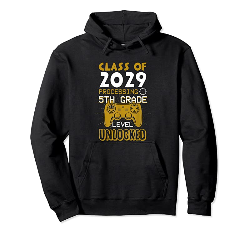 Perfect Class Of 2029 5th Grade Unlocked Funny Game First Day School T Shirts