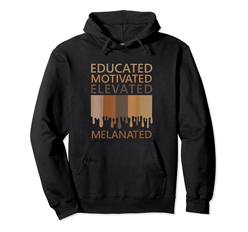 Perfect Educated Motivated Elevated Melanated T Shirts