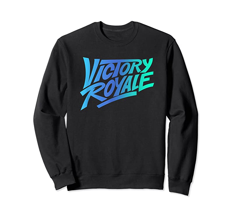 Perfect Fortnite Victory Royale Gradient Logo T Shirts