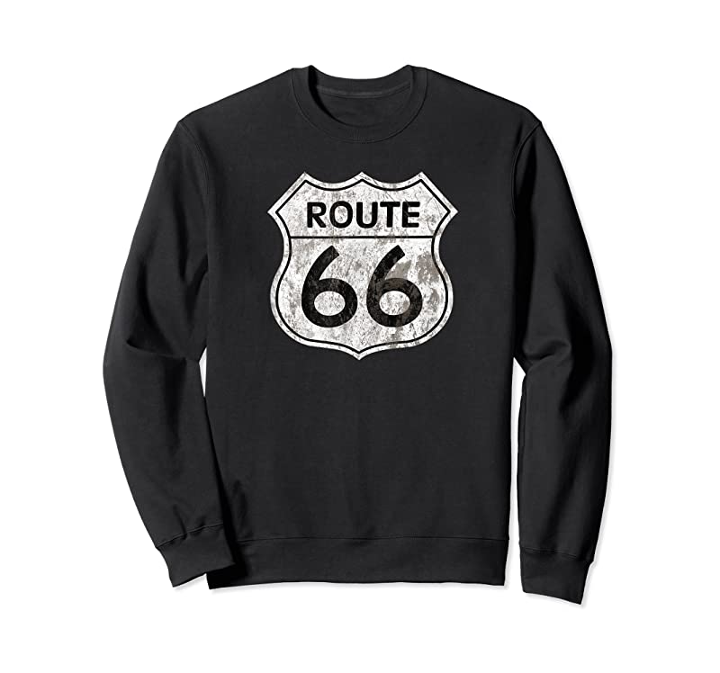 Perfect Historic Route 66 Vintage Distressed Style T Shirts